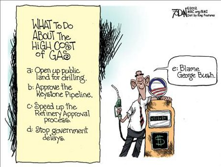 Obama's Plan For High Gas Prices
