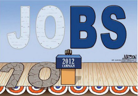 Obama's 2012 Campaign Direction - From jobs to BS