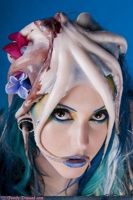 Beyond Gaga - Fresh Octopus Hat?