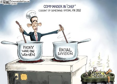 Obama's cooking up a special stew for the 2012 elections