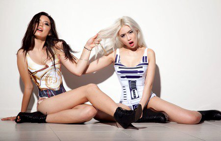 Hot Droids - No Jedi mind trick could convince they weren't the ones I was looking for