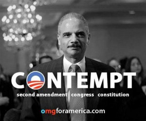Holder Contempt - I've got a noose with the boy's name on it. It's a shame I'll never get to use it.