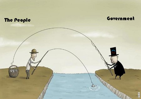 Fishing - The People v. The Government