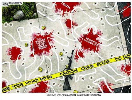 Holder Crime Scene