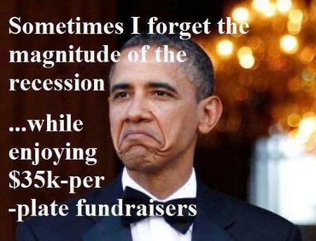 Obama Forgets