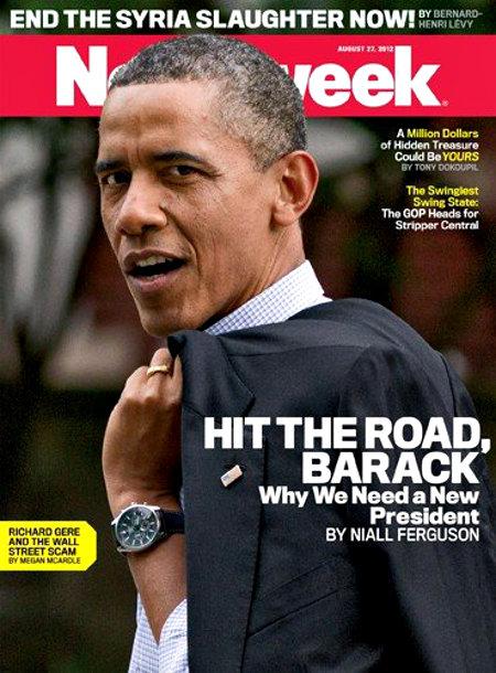 Barack's Gotta Go - Hit The Road, Barack