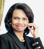 Former US Secretary of State Condoleeza Rice