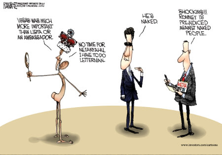 The Naked Obama As The Media Reports It