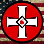 KKK American Flag