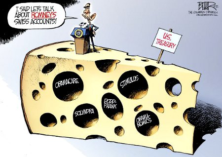 Obama - Swiss Cheese
