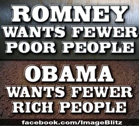 What Romney And Obama Each Say They Want