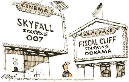 Fiscal Cliff Starring Oblahblah