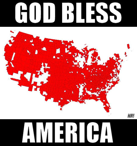 True America - May The Gods Bless Her and Her people
