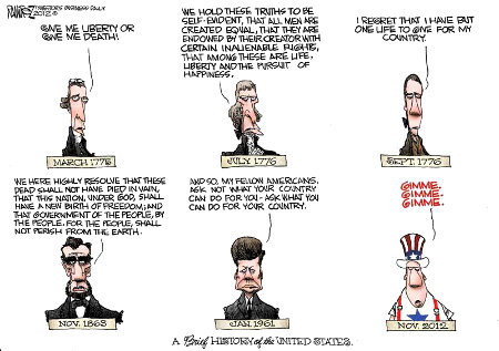 American History - A synopsis of the electorate