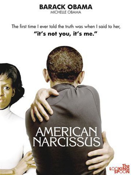 Obama's new book - American Narcissus
