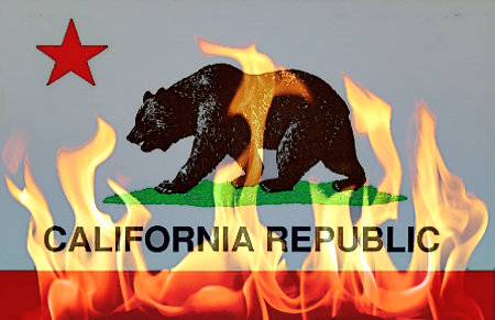 california-flag-burning