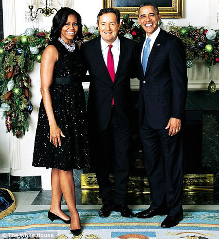 Obamas and Morgan