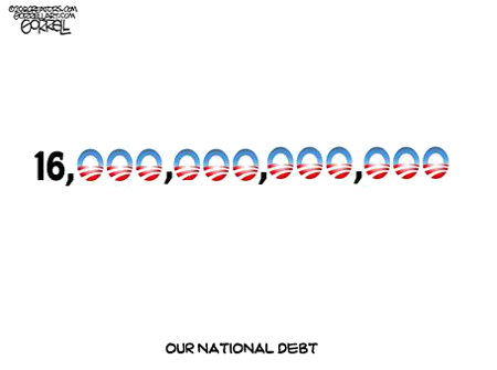 Obama - The 16 Trillion Dollar Child