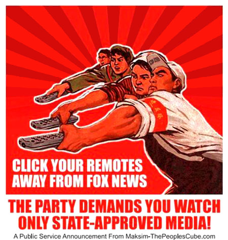 Fox Not State-Approved Media