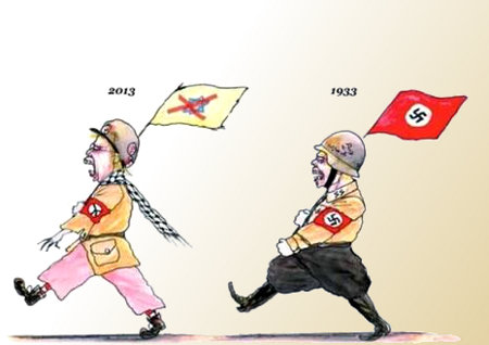 Antisemitism doesn't change anything except its uniforms and slogans
