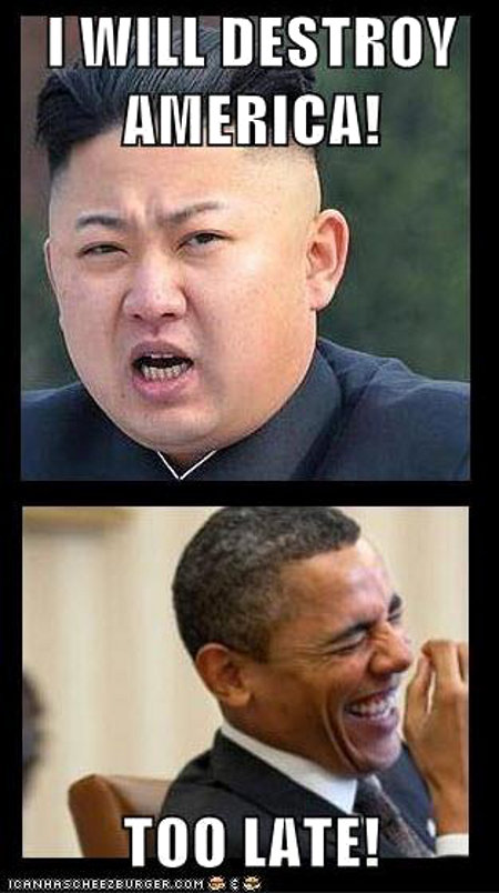 North Korea is a backward nation that is woefully behid the times