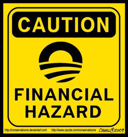 Caution - Financial Hazard