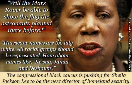 Jackson Lee - The Congressional Black Caucus' choice for DHS