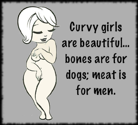 Meat is for men; bones are for dogs