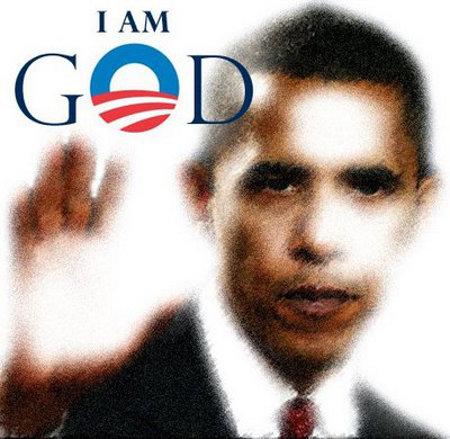 Obama - I Am God