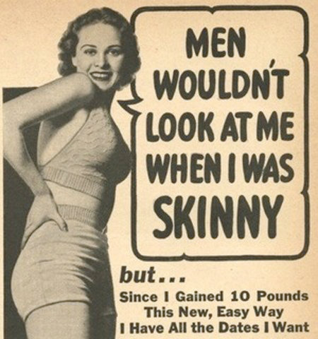 Men Wouldn't Look At Me When I Was Skinny
