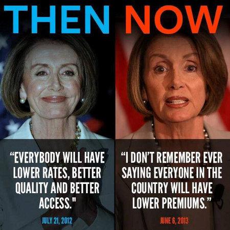 Pelosi Then & Now