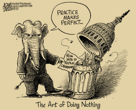 The 113th Congress is the Do-Nothing Congress?