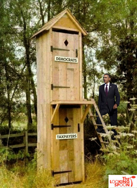 Democrat Outhouse