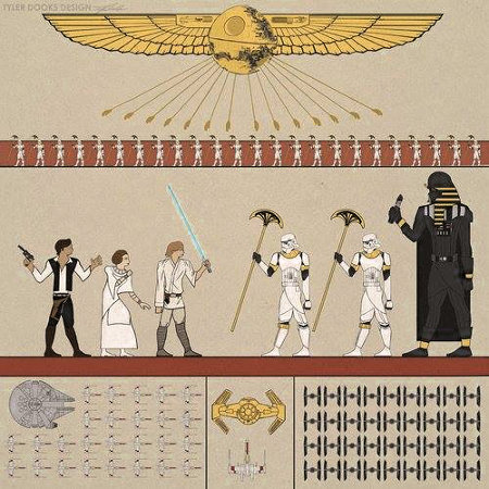 Star Wars Hieroglyphs