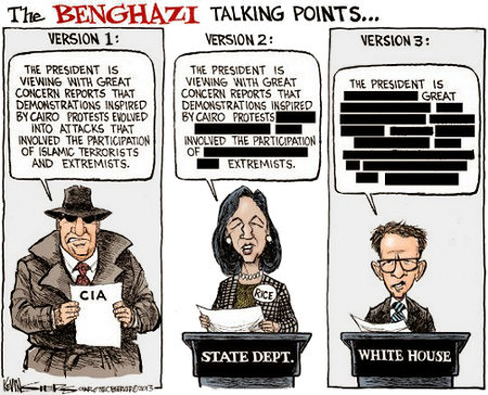 Benghazi Talking Points