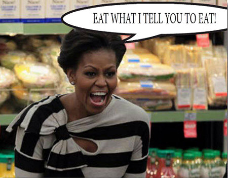 Moochelle Obama - Eat What I Tell You To Eat