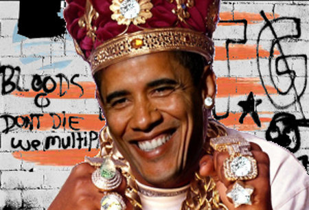 Ghetto King Obama