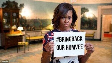 ISIS - Moochelle #BringBackOurHumvee