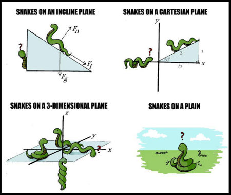 Snakes On A Plane - Now That's a motherfucking math lesson