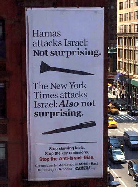 Neither Hamas' nor the NY Times attacks upon Israel's Jews is surprising
