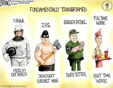 Obama's Fundamental Transformation