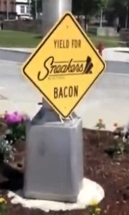Yield For Bacon! No! Haram! Infidel!