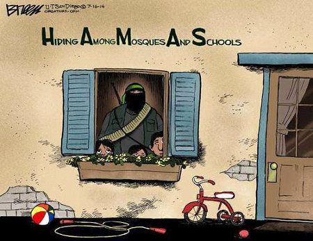 Hamas - Hiding Among Mosques And Schools
