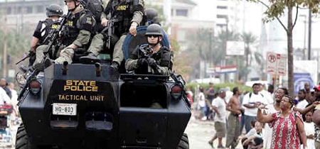 Some so-called Militarized Police