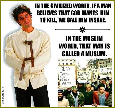 Muslim Insanity Problem