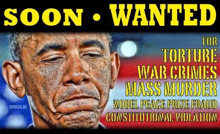 Barack Obama: murderer and war criminal