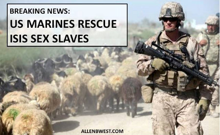 USMC Rescue ISIS Sex Slaves