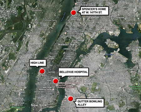 Spencer NYC Ebola Map