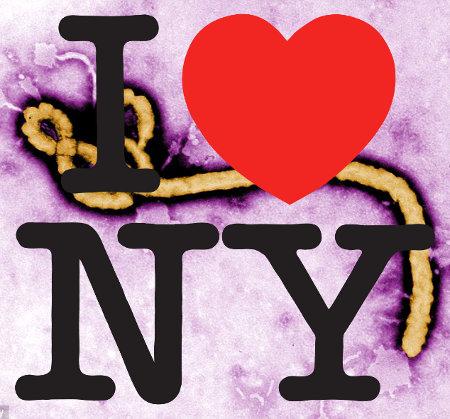 Ebola - I <3 NY