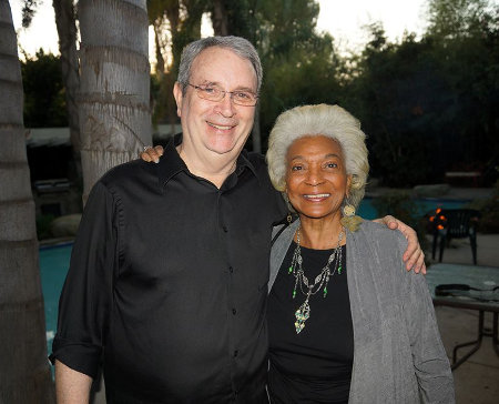 After all these many, many years David and Nichelle are still looking good